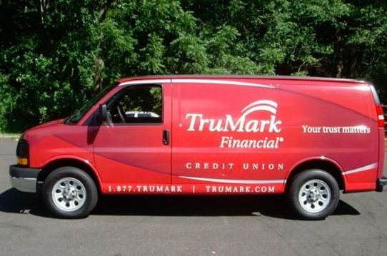 Banks, Credit Unions & Mortgage Companies using Vehicle Wraps