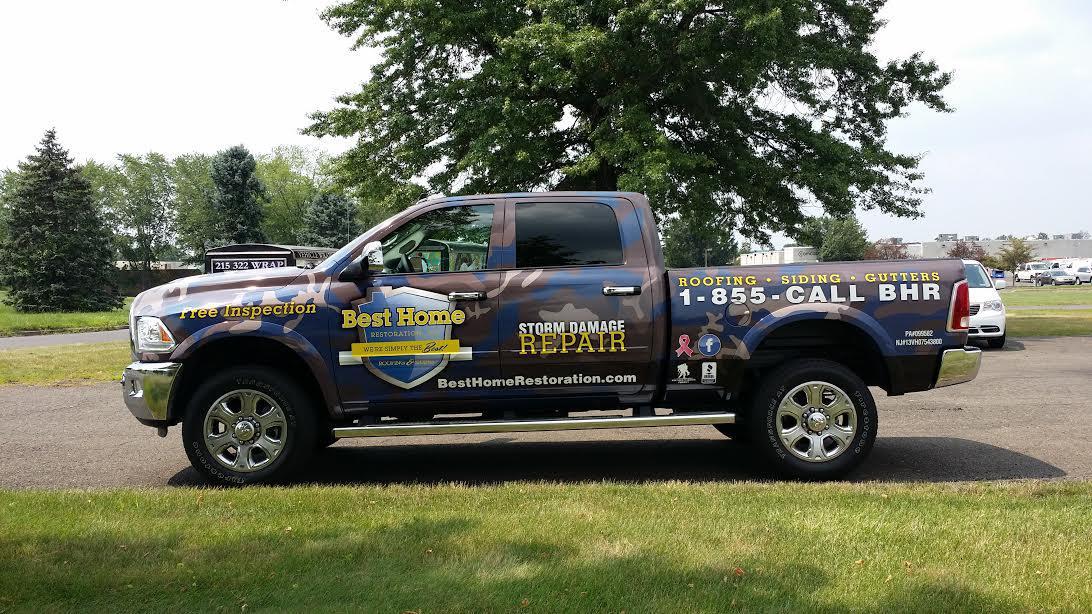 Fleet Wraps & Contractor Truck Wraps