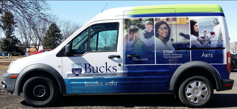 Car Wrap Advertising - Mobile Billboard Advertising for BCCC