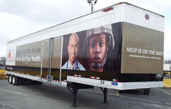 Tractor Trailers Wraps & Installations