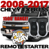 Long Range Chevrolet Express Van Remote Starter
