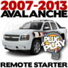 Plug Play Ready Chevrolet Avalanche Remote Starter