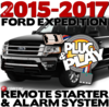 Ford Expedition Plug  Play Remote Starter Alarm