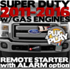 Ford Super Duty Plug  Play Remote Starter