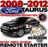 2016 Ford Taurus Plug  Play Remote Starter Alarm