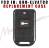 Code Alarm CA420 Replacement Case Kit FCC ID ELVATCC
