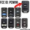 Remote Starter Remote FCC ID GOH-PCMINI