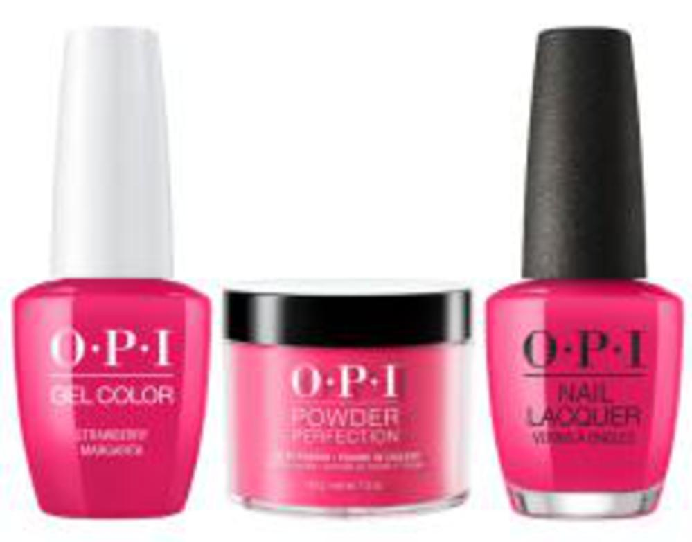 Opi Strawberry Margarita Polish Infinite Shine Gelcolor Or Powder Perfection