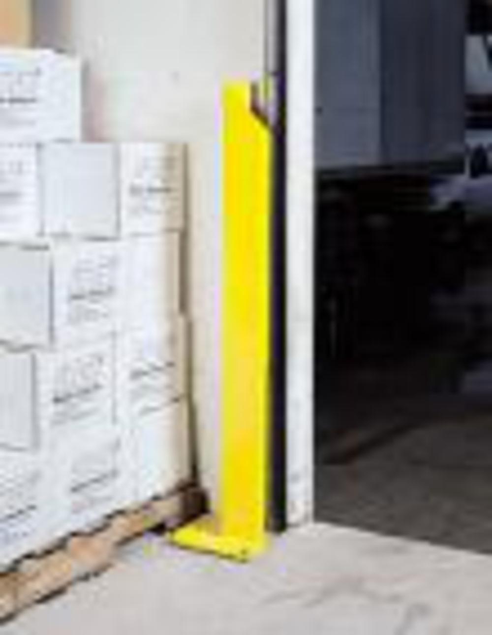 Loading Dock Equipment 48 Inch Door Track Guard Left