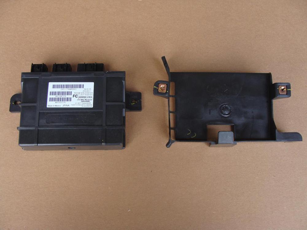 2007 C6 Corvette Key Fob TPMS 315 Mhz Receiver Module 15853335