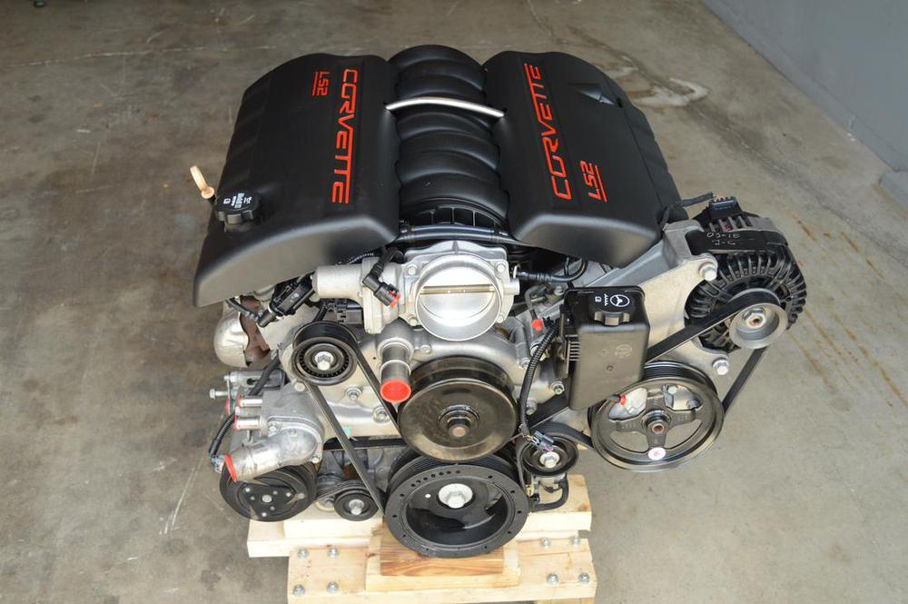 2007 ls2 corvette engine w 60k miles. Black Bedroom Furniture Sets. Home Design Ideas