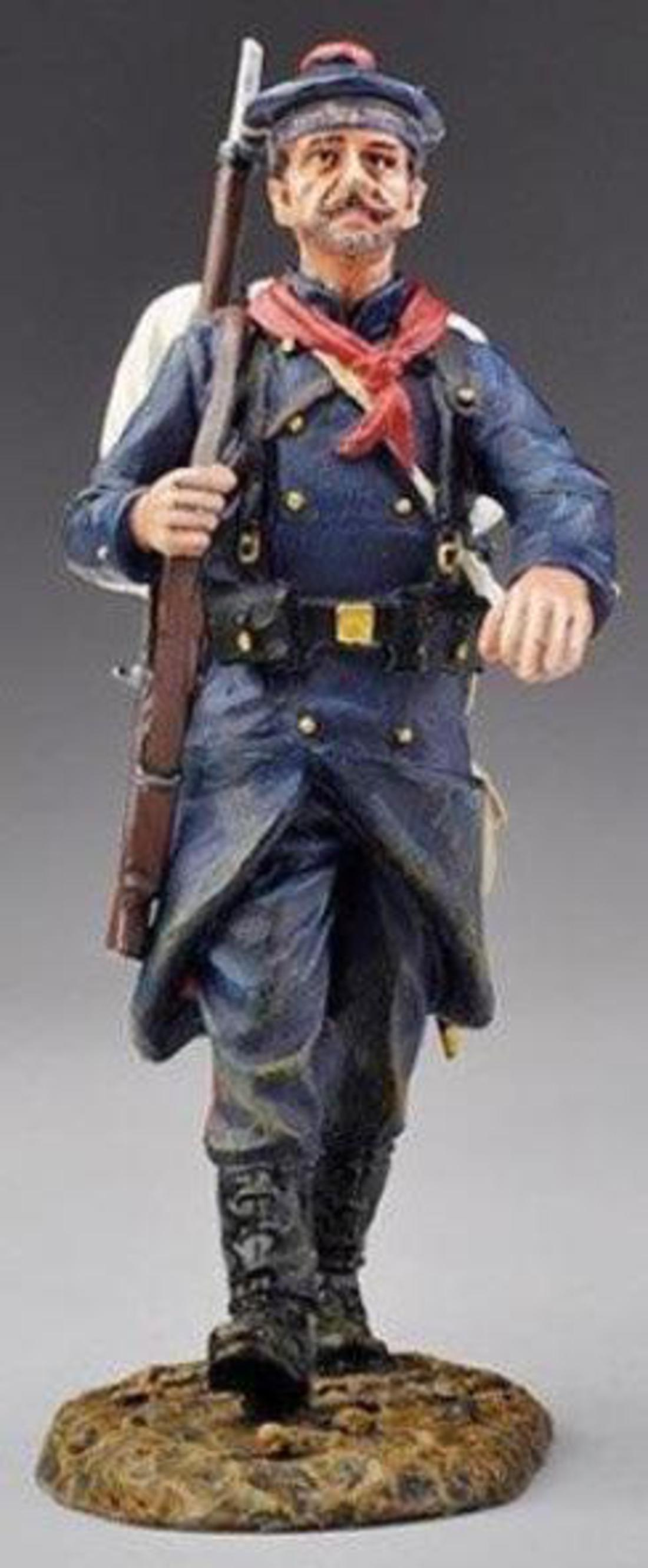 GW026 FRENCH MARINE MARCHING ( RETIRED & SOLD OUT )