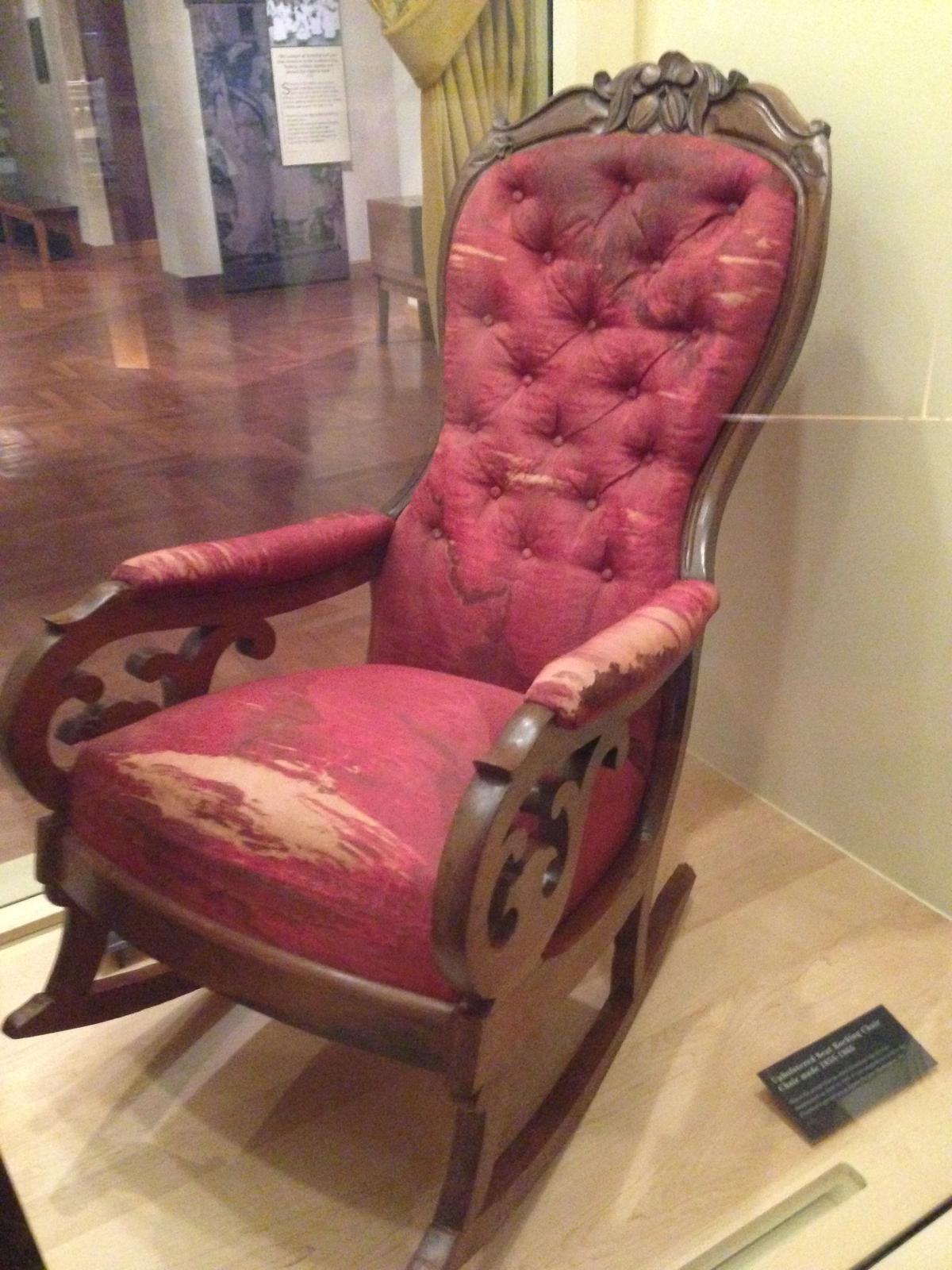 Lincoln's Bloody Chair