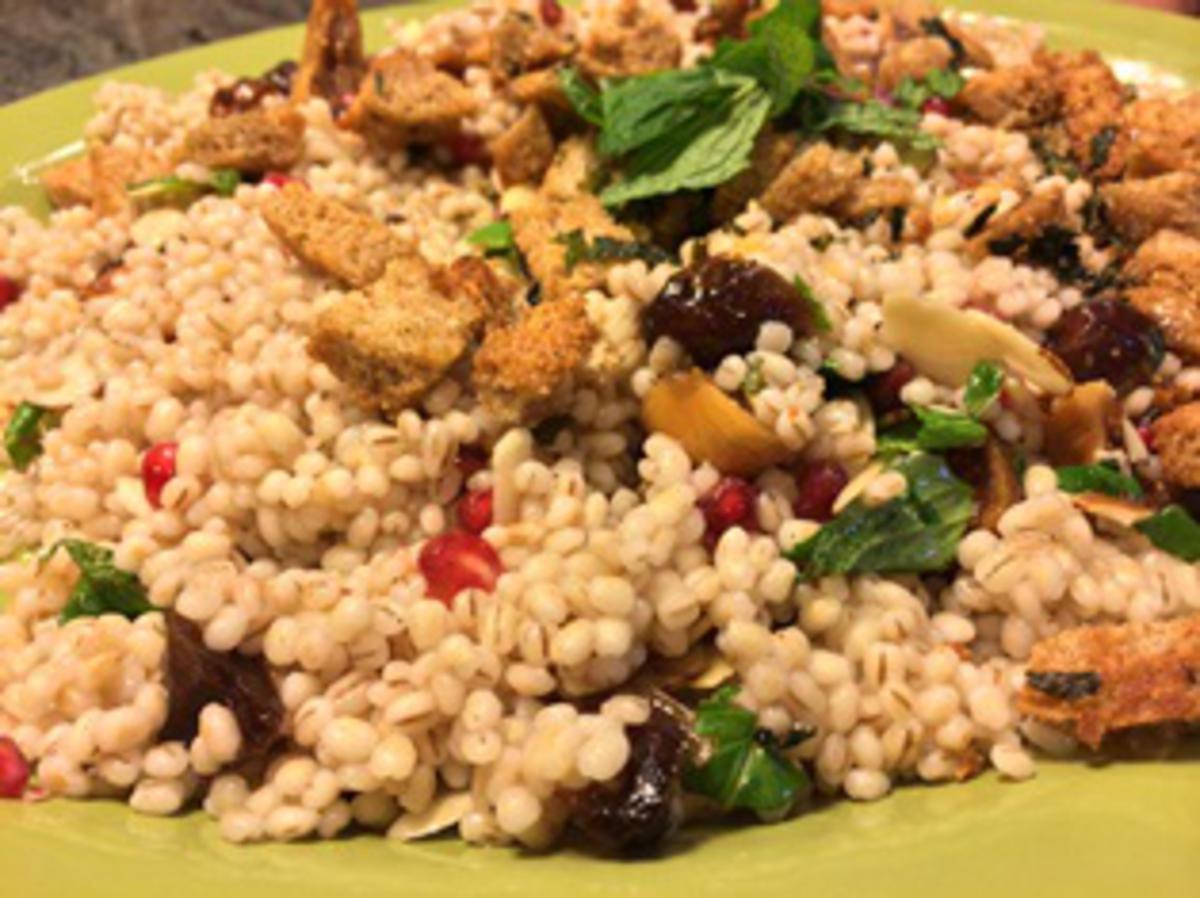 Tu B'Shevat Special - Seven Species Couscous Salad