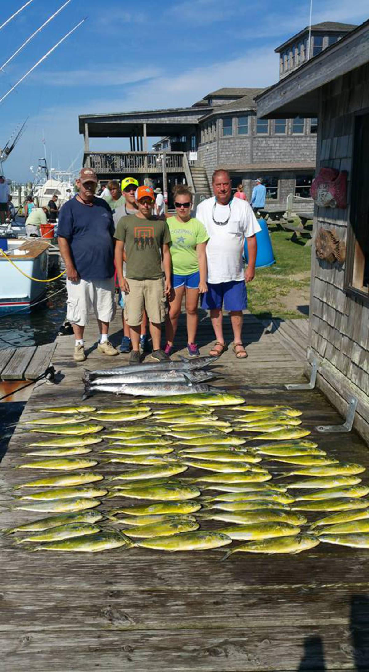 Hatteras Fishing Report 8/13/2015