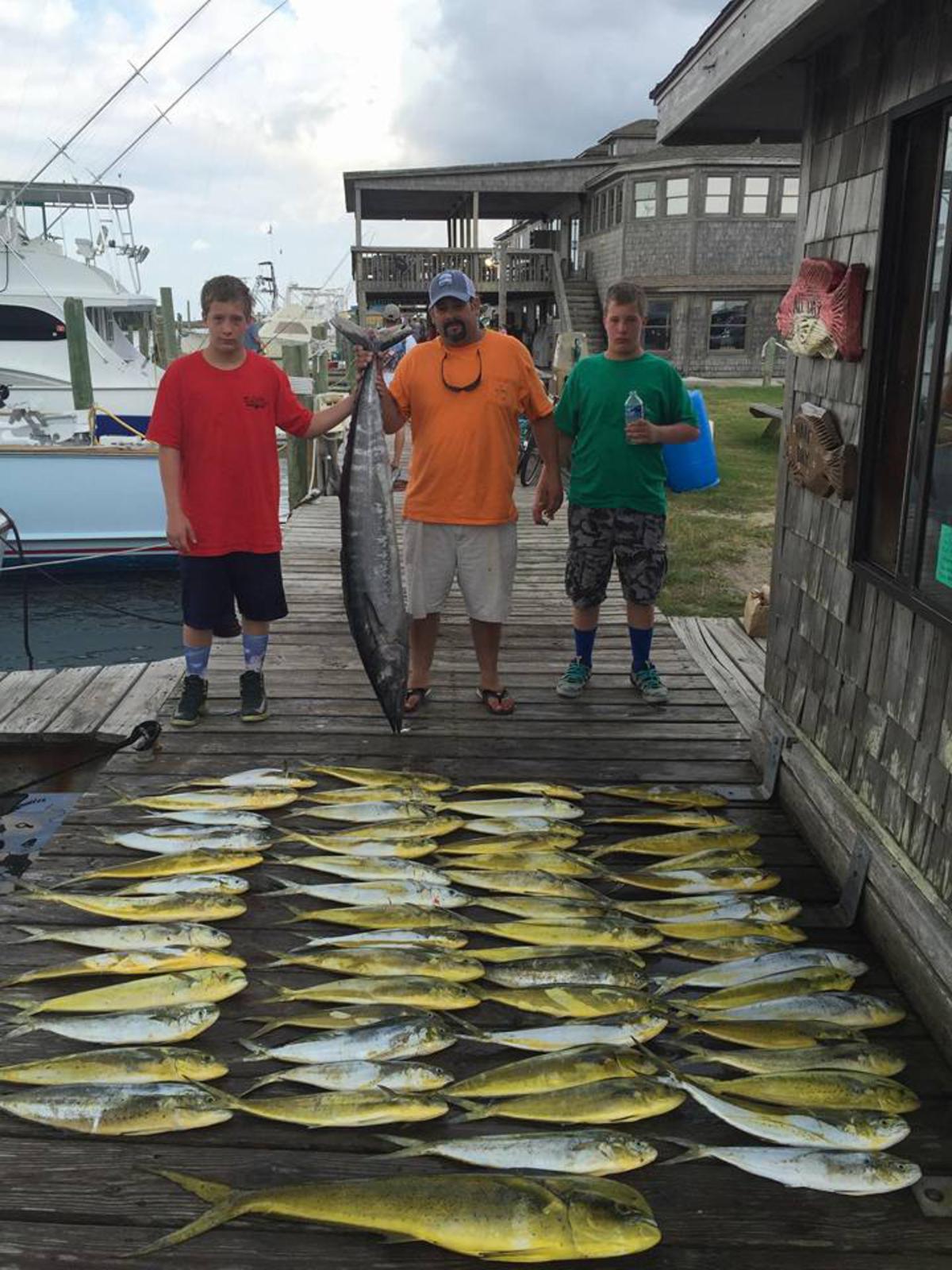 Hatteras Fishing Report 8/26/2015