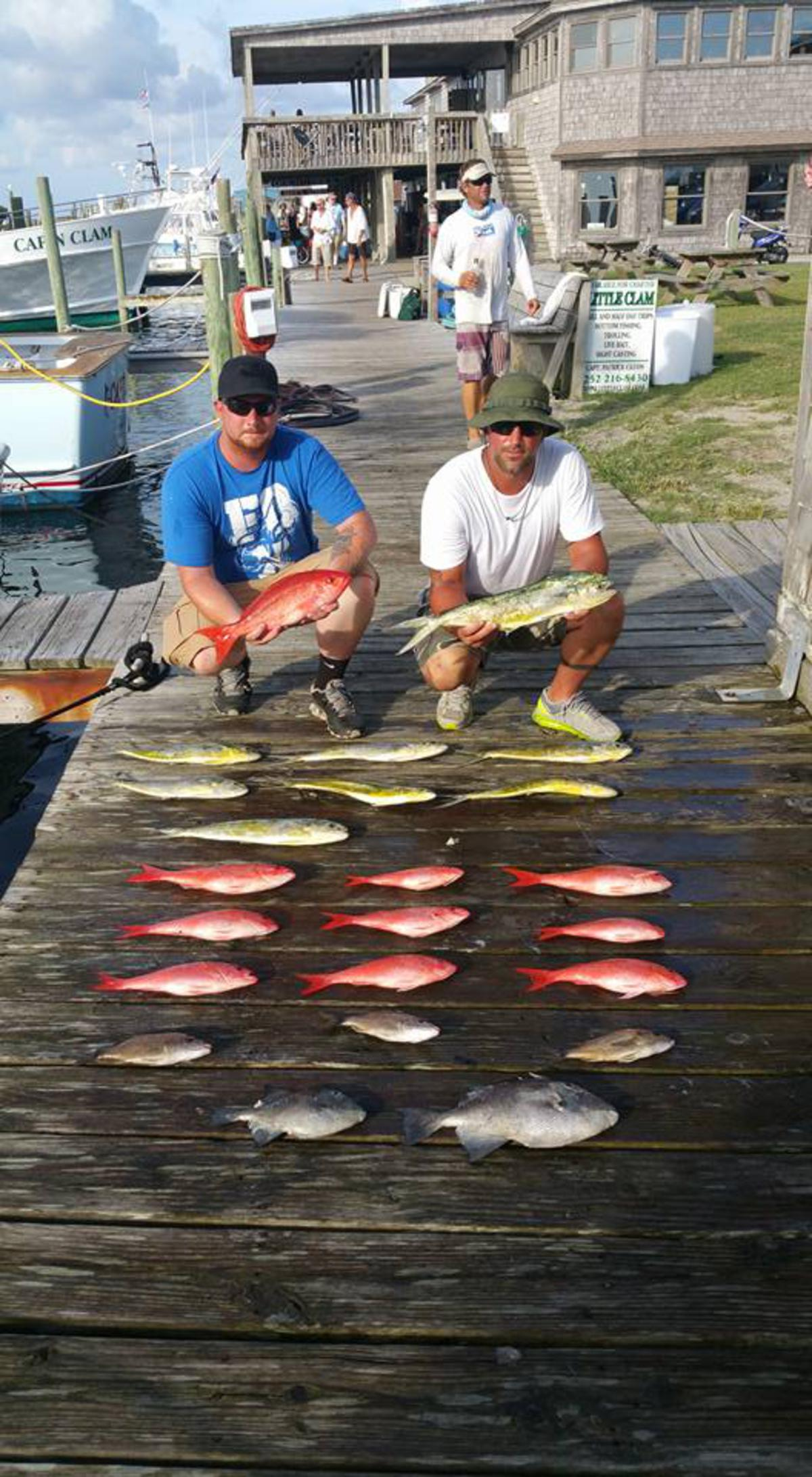 Outer Banks Fishing Report for 8/10/2016