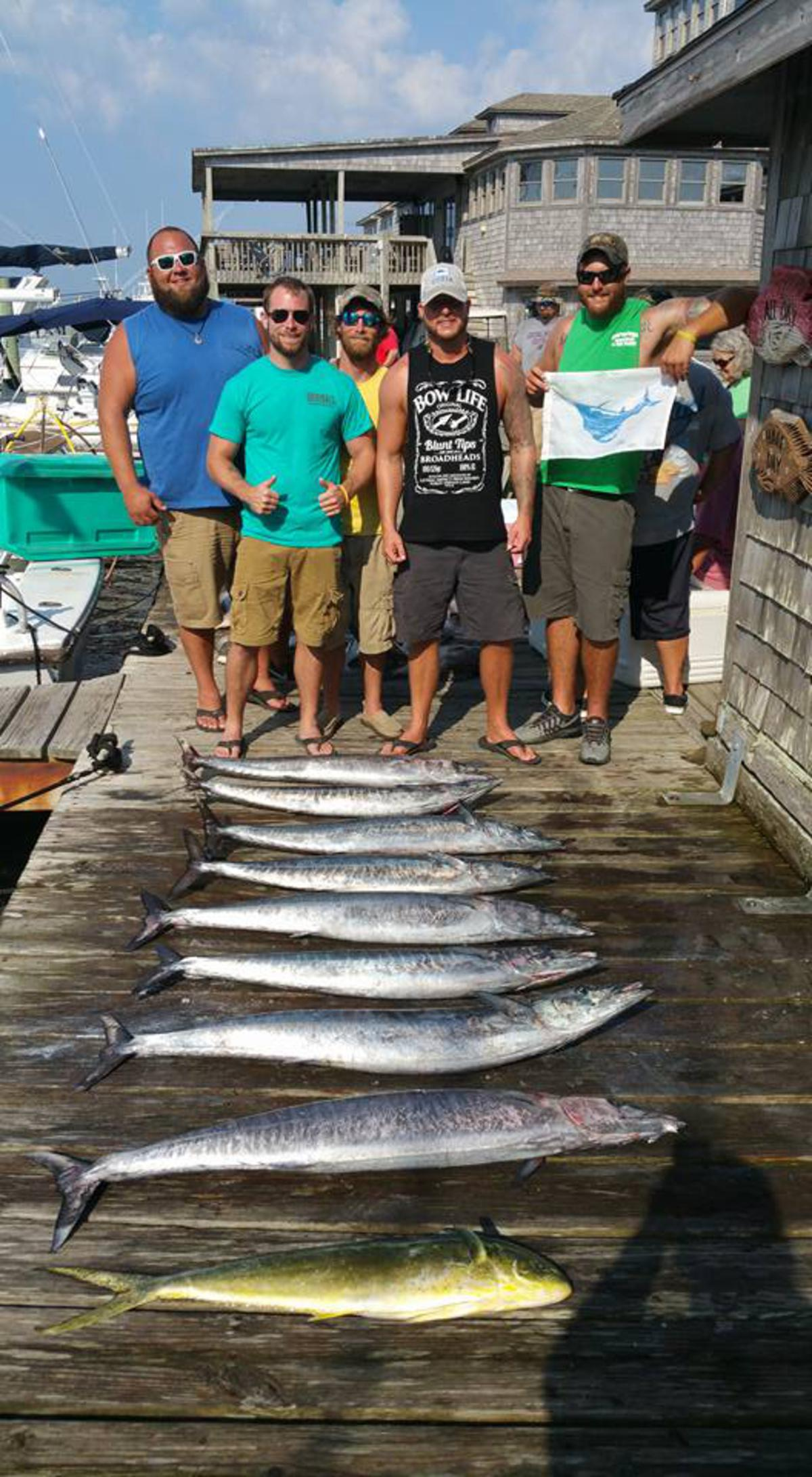 Outer Banks Fishing Report for 8/27/2016