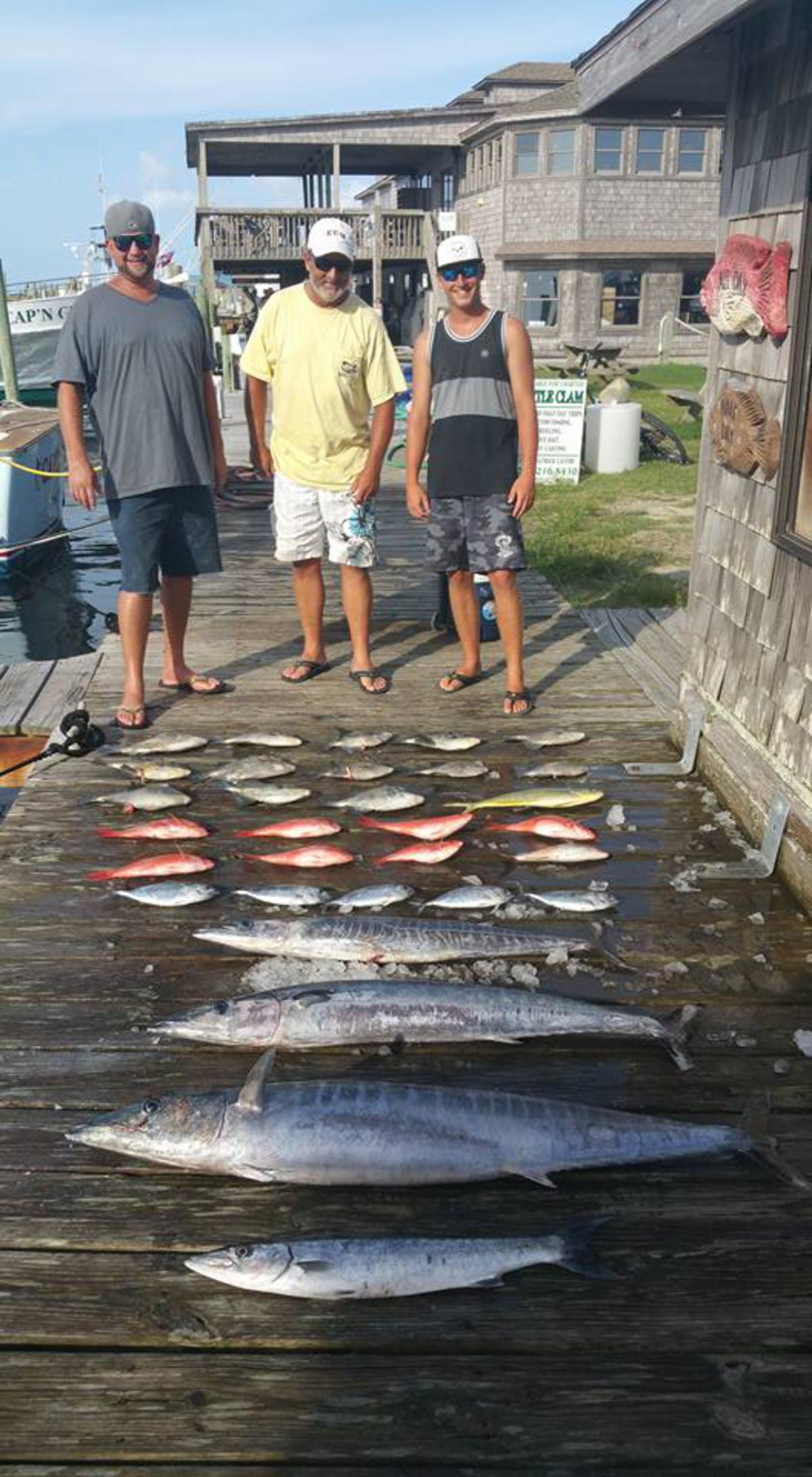 Outer Banks Fishing Report for 8/9/2016