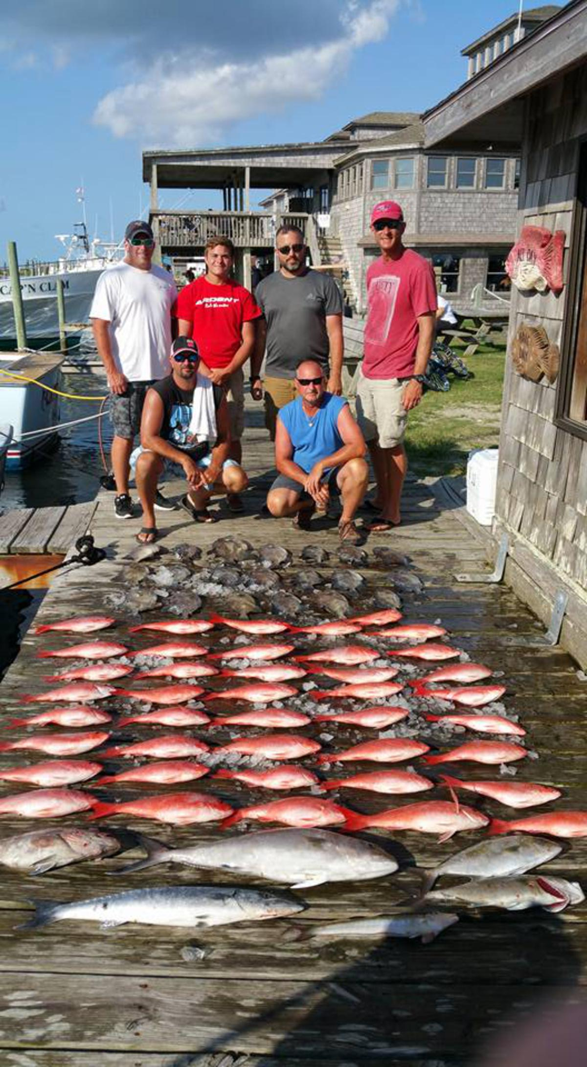 Outer Banks Fishing Report for 7/22/2016