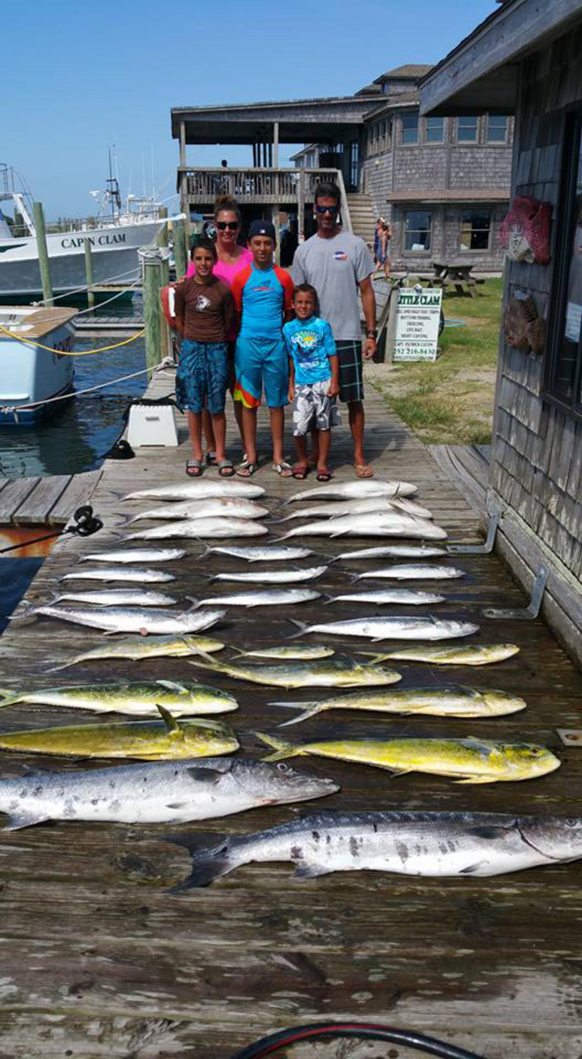 Outer Banks Fishing Report for 7/28/2016