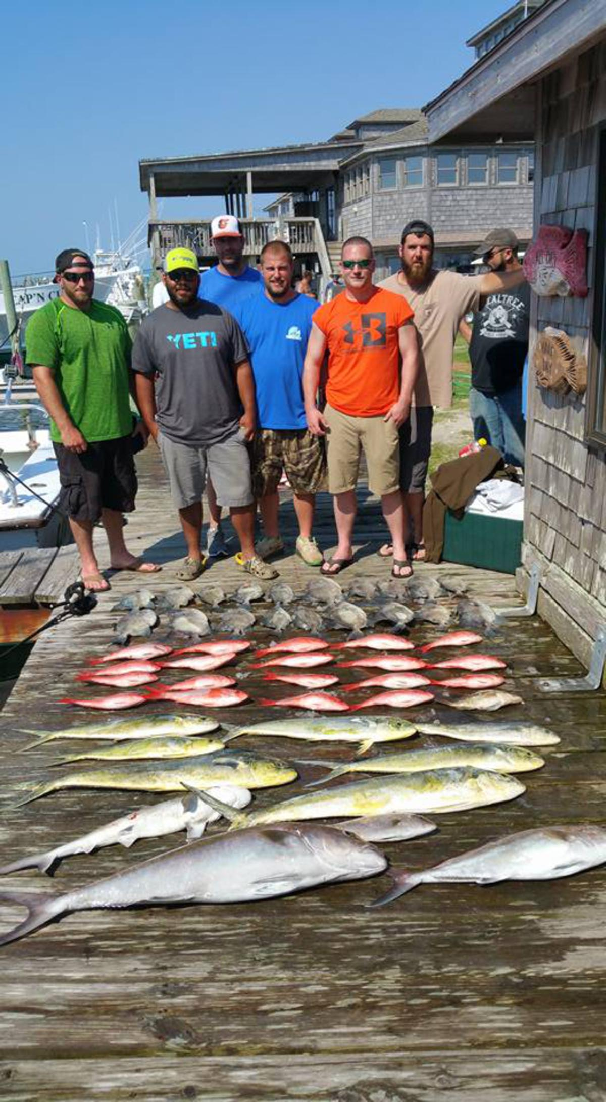 Outer Banks Fishing Report for 6/11/2016