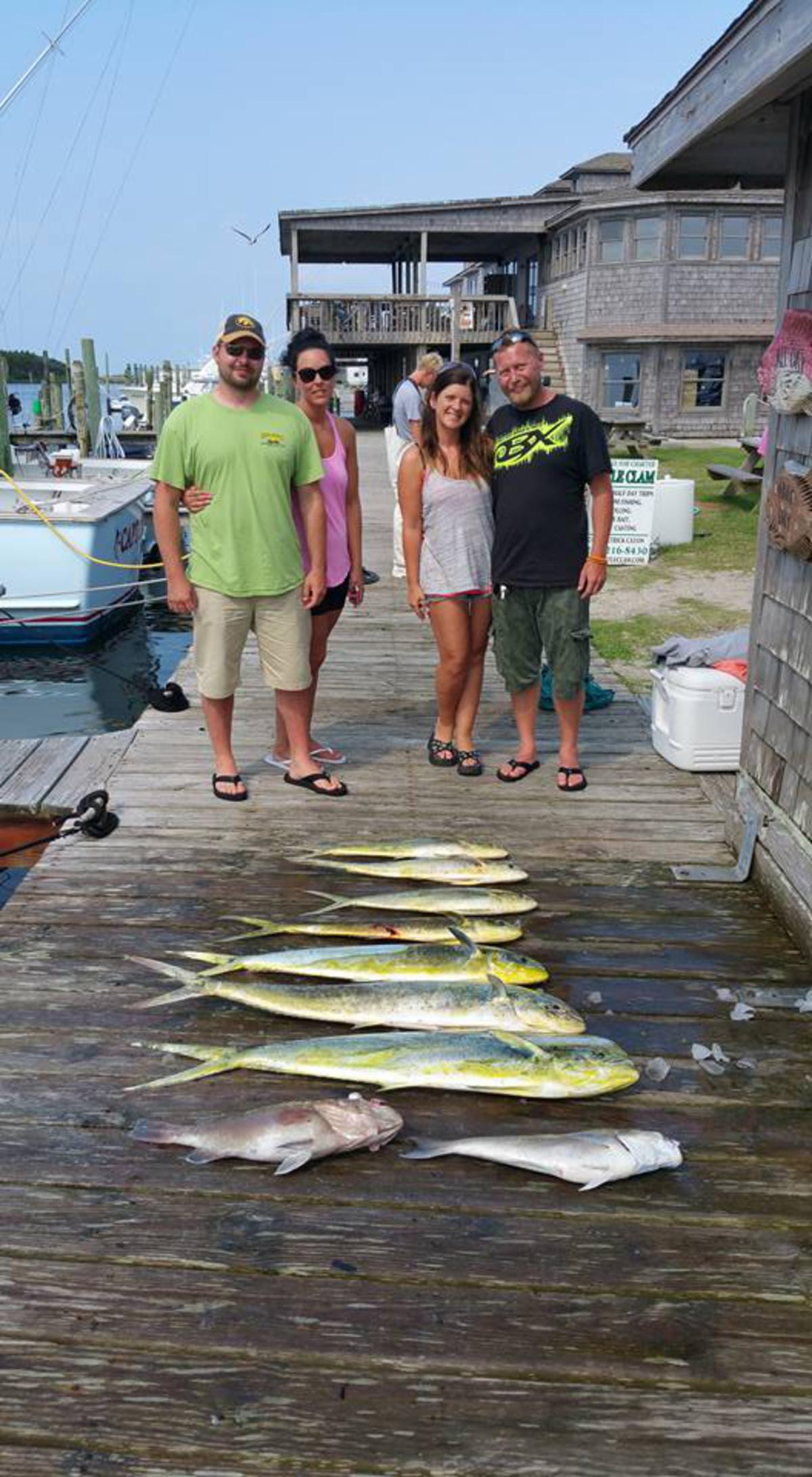 Outer Banks Fishing Report for 6/15/2016