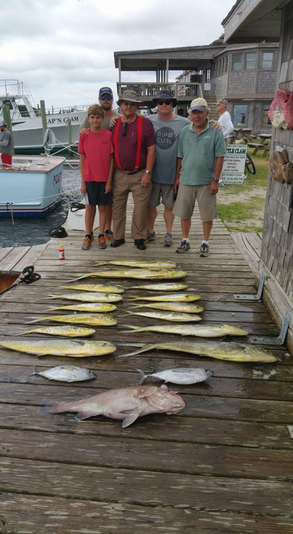Outer Banks Fishing Report for 6/25/2016