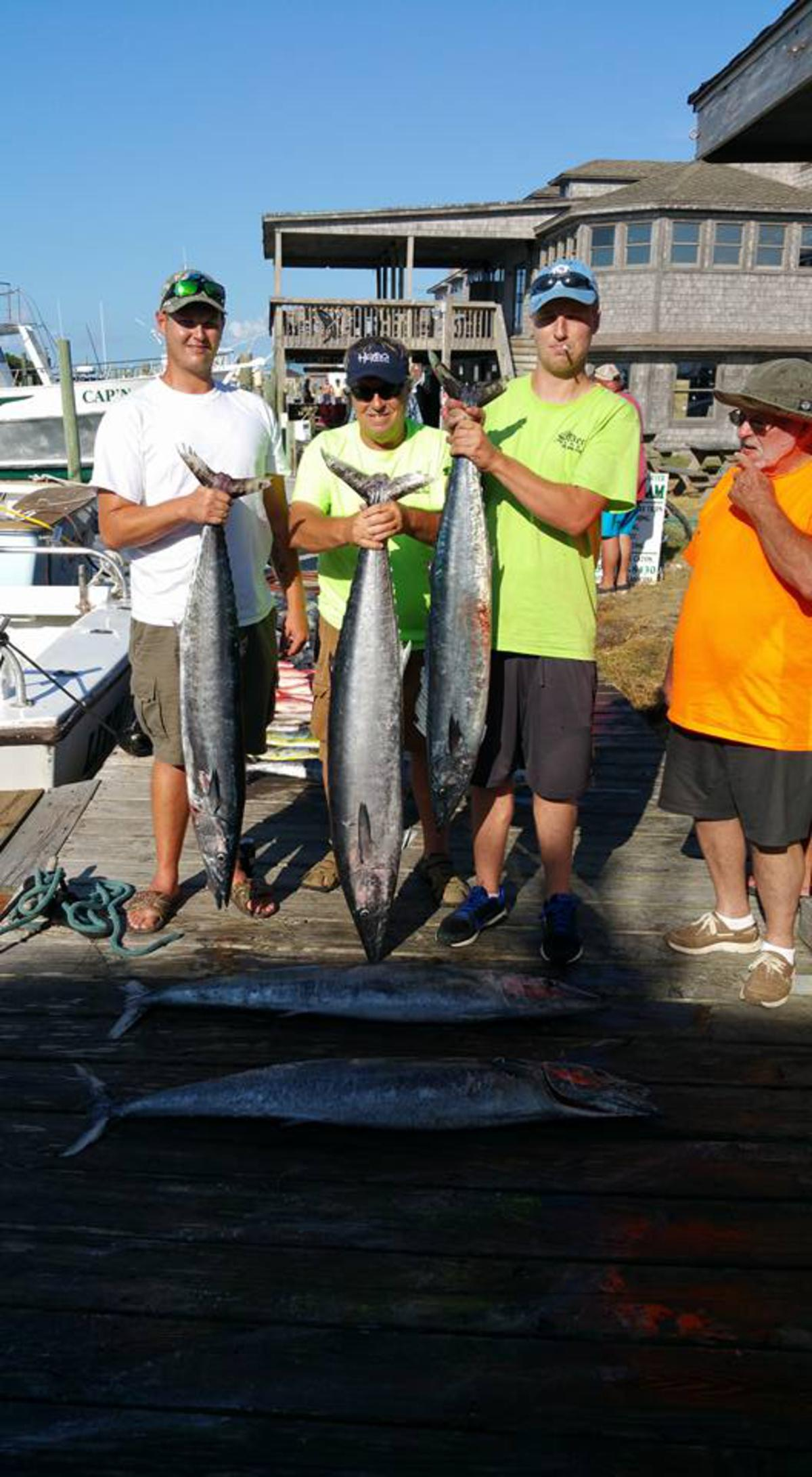 Outer Banks Fishing Report for 9/10/2016