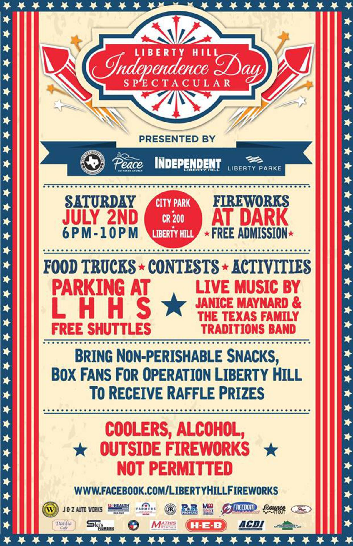 Liberty Hill Independence Day Spectacular