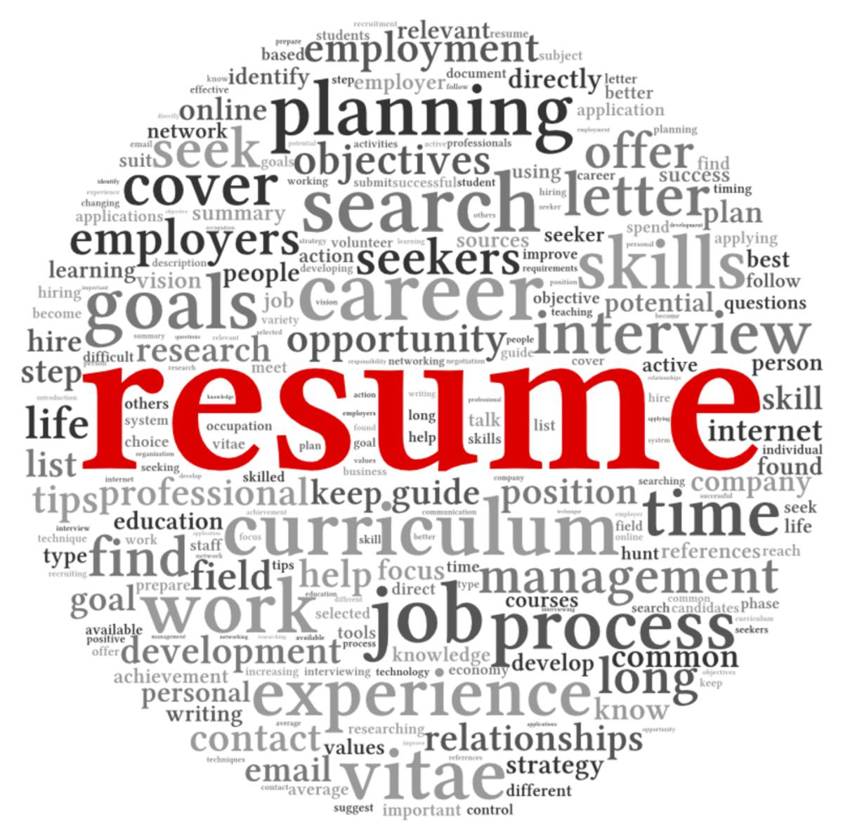 the importance of a good resume attain training 24 7