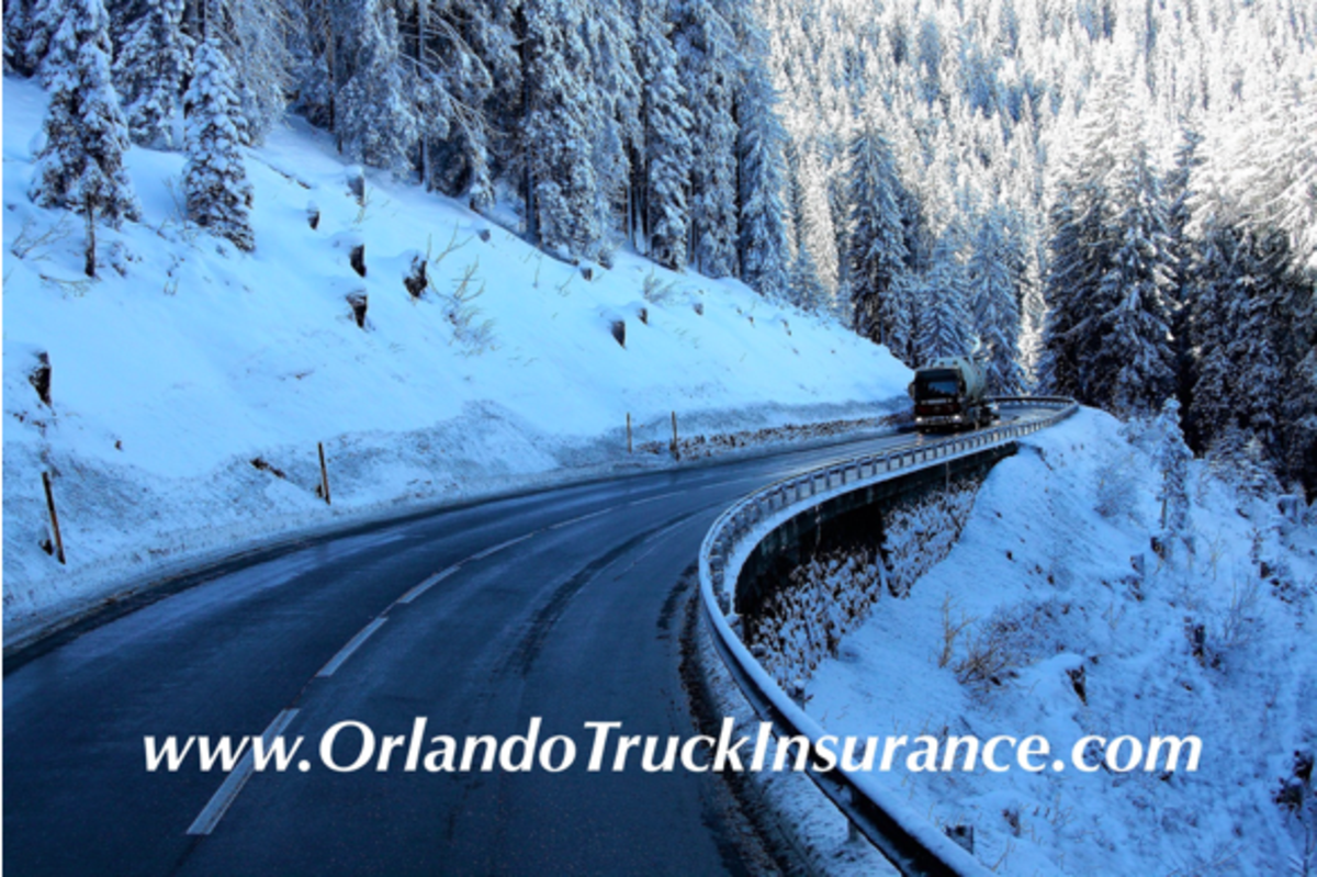 The hazards of winter weather for truck drivers