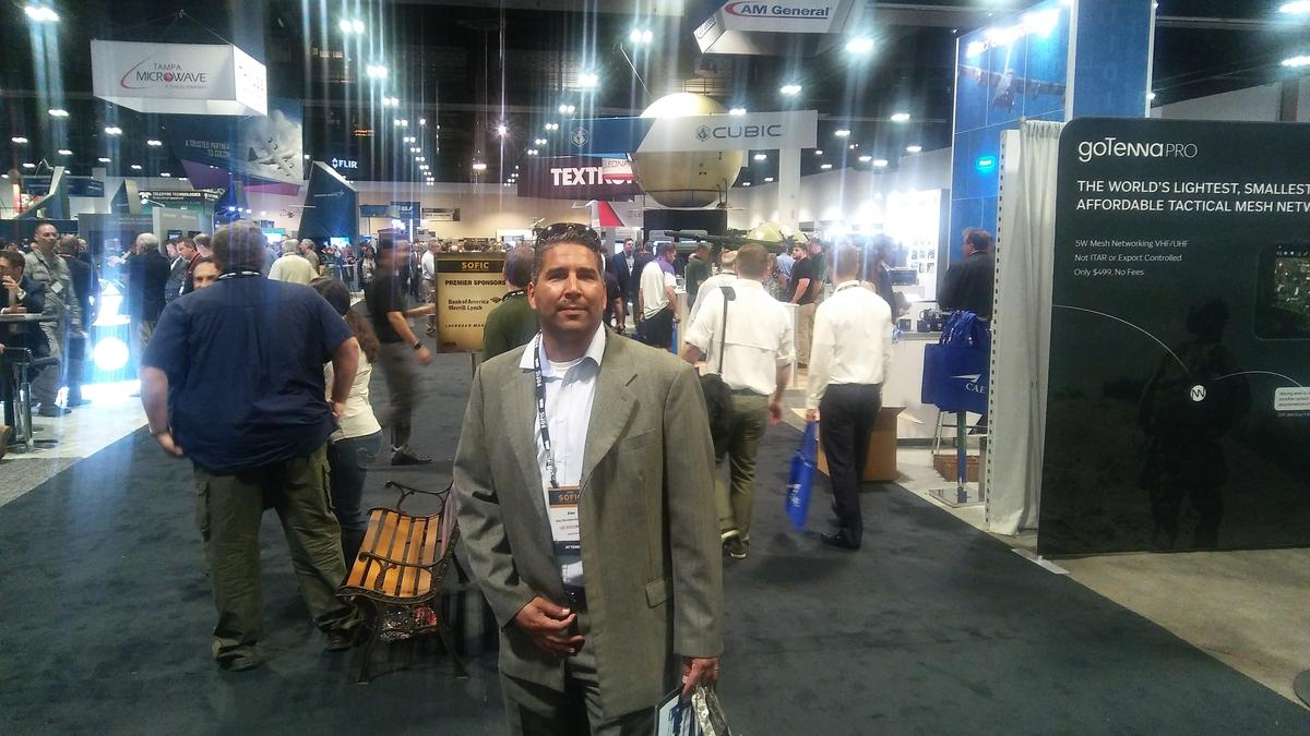 EEC Solutions CEO Attended the Special Operations Forces Industry Conference at The Tampa Convention Center
