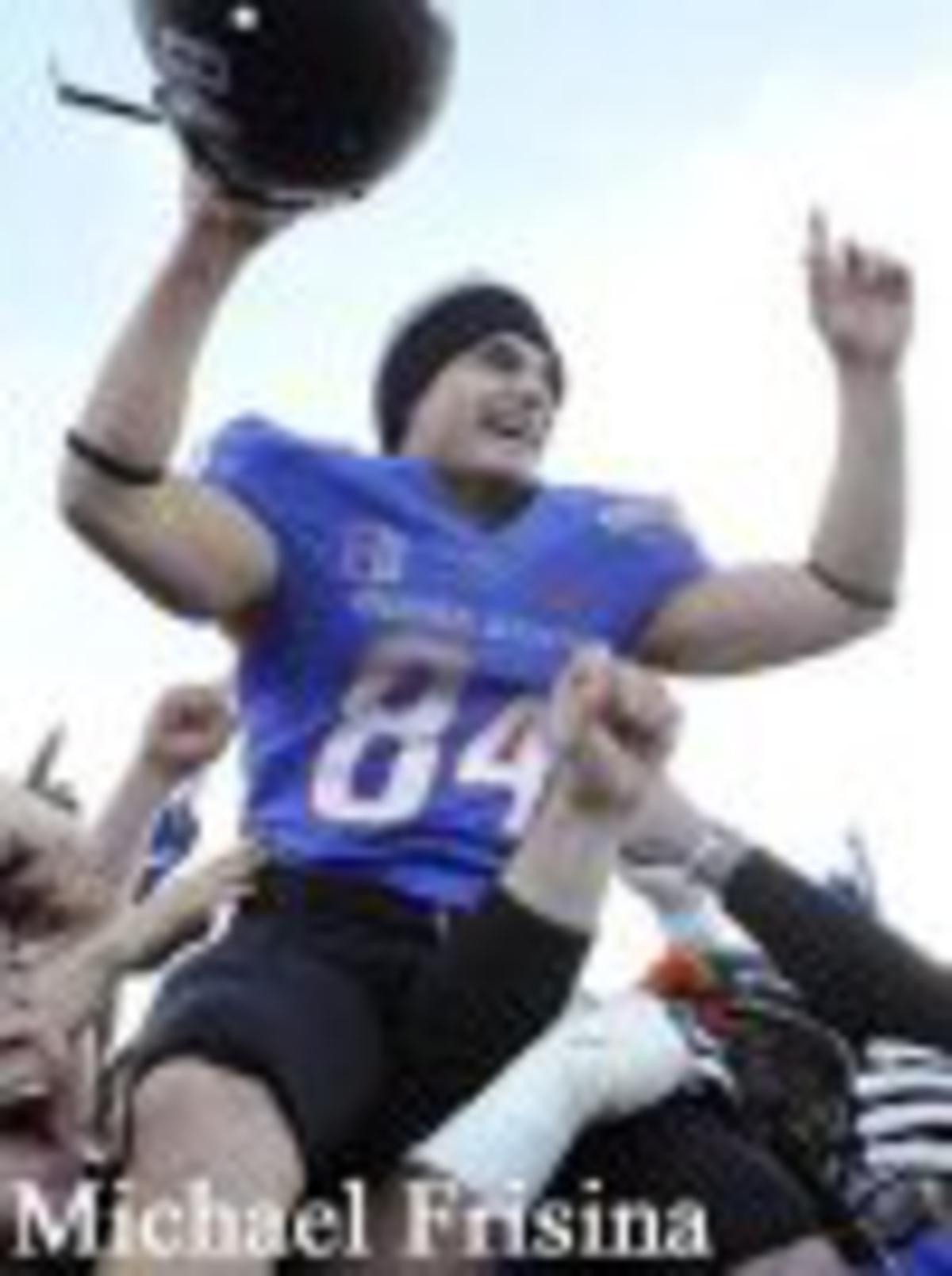 Mike Frisina - Game Winner MAACO Bowl (Boise St v. Washington)