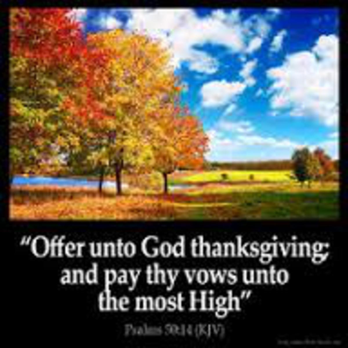 Unashamed Thankfulness