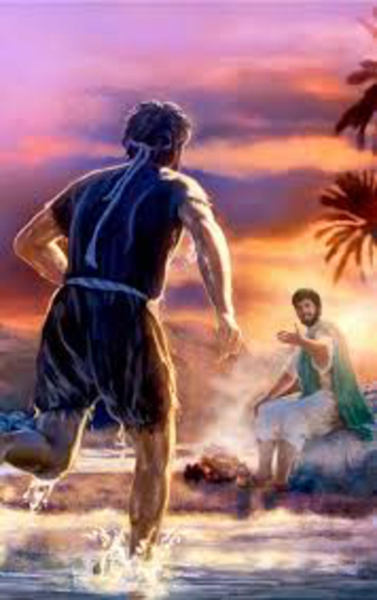 Running To Jesus