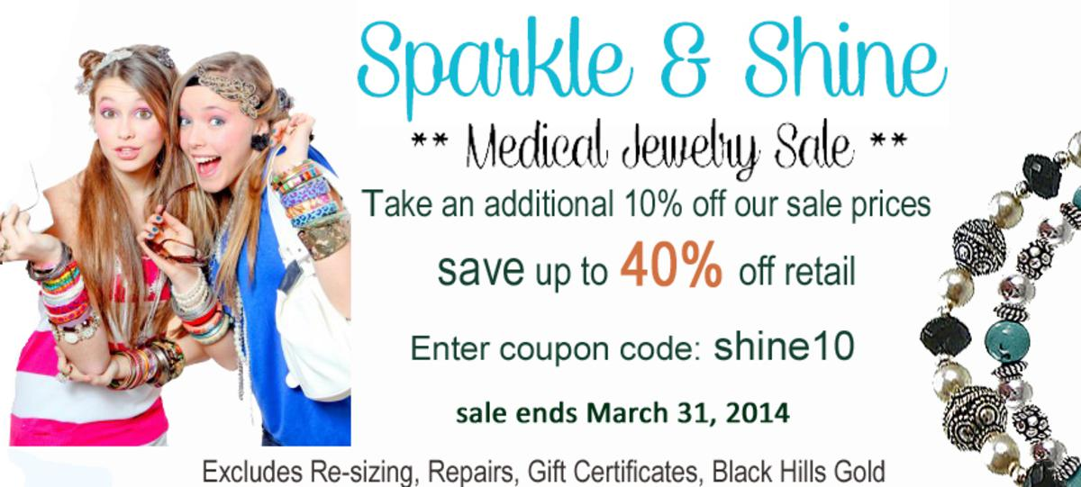 MEDICAL JEWELRY SALE