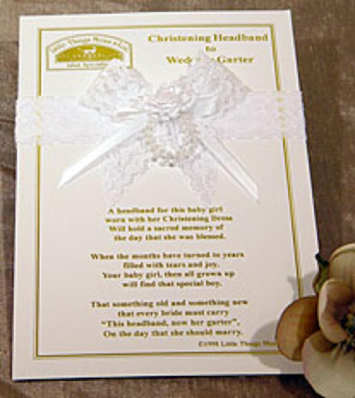 Christening Gifts for a Baby Girl