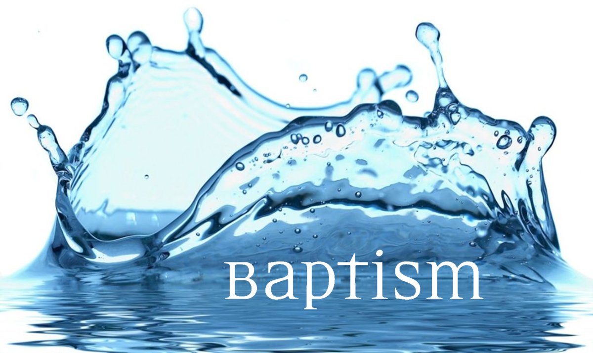 WHY SHOULD WE BE BAPTIZED?