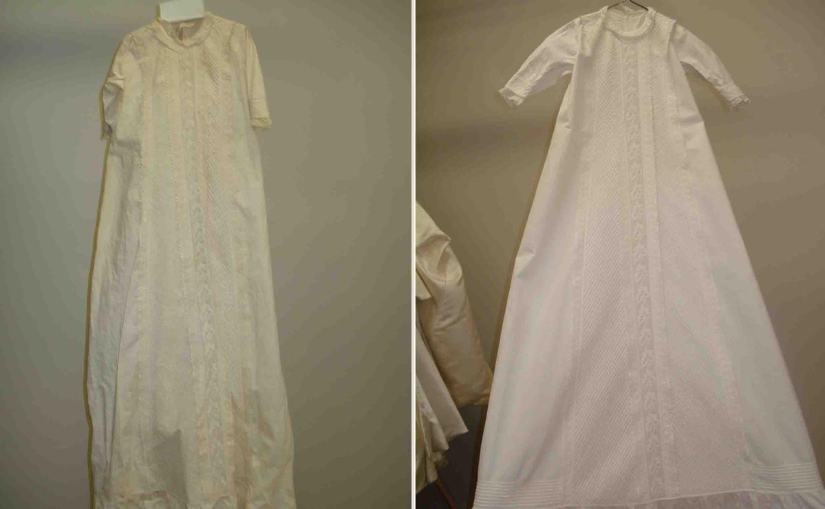 How to Remove Yellowing in a Christening/Baptism Dress