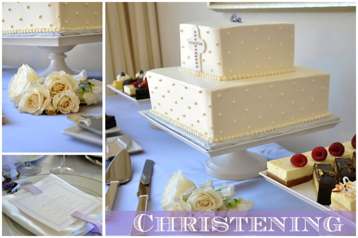 Christening Celebration Food And Drink Overview