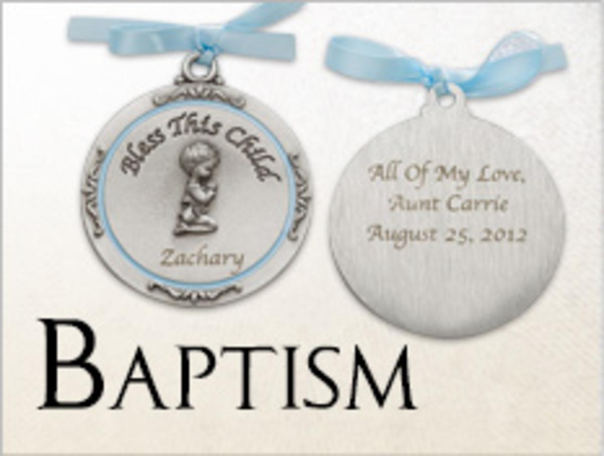 Great Christening and Baptism Keepsake Ideas