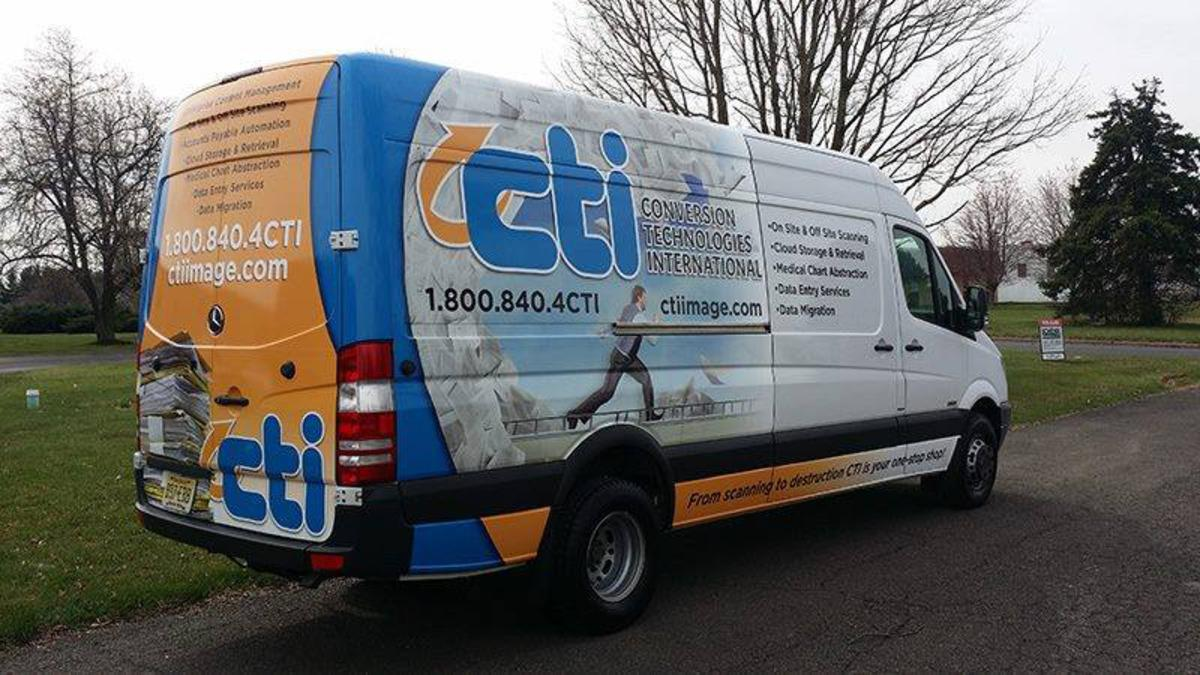 Benefits of Van Wraps - Vehicle Wraps in Philadelphia