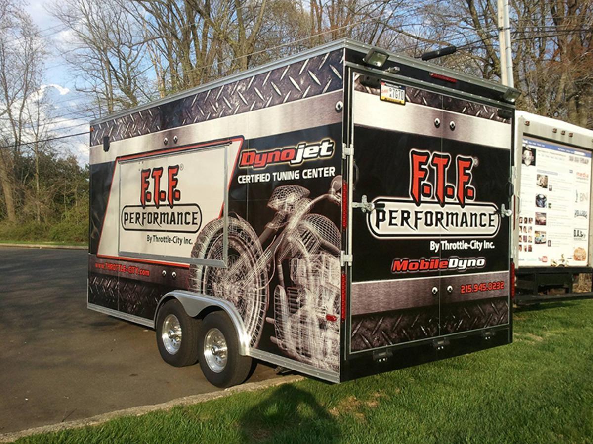Box Truck Wraps in Bucks County