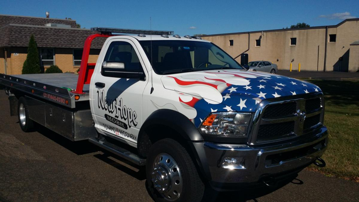 Vehicle Wraps for Bucks County