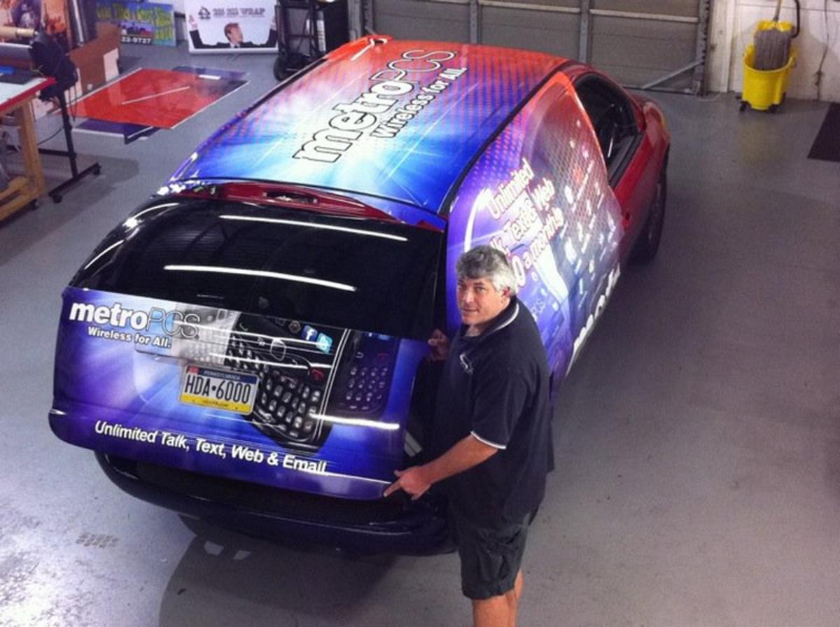 Philadelphia commercial vehicle wraps experts