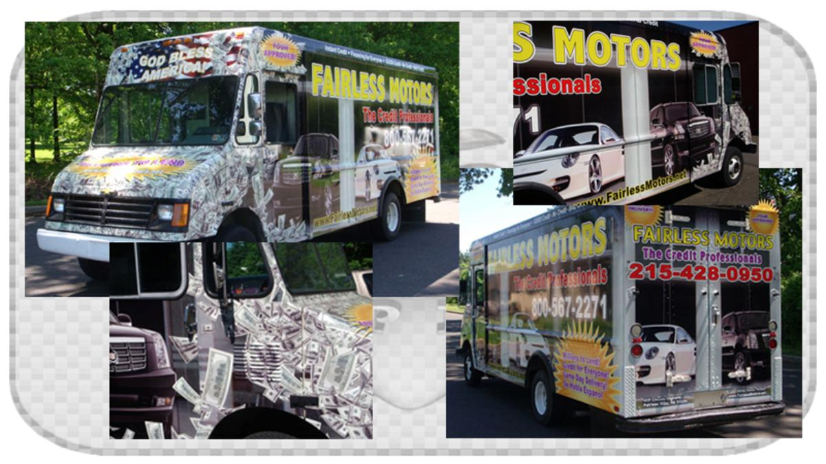 Box Truck and Tractor Trailer Wraps