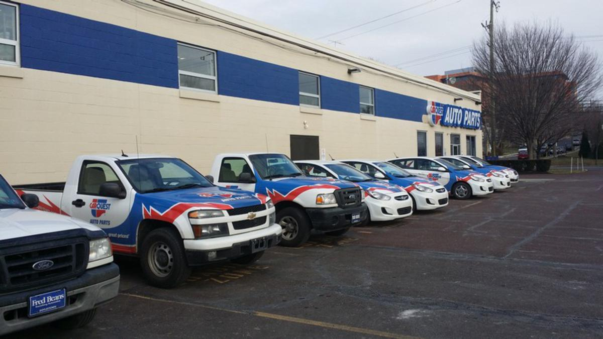 Philadelphia Fleet Vehicle Wraps