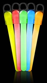 assorted colors glow sticks