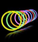 8 inch Glow Bracelets mix color